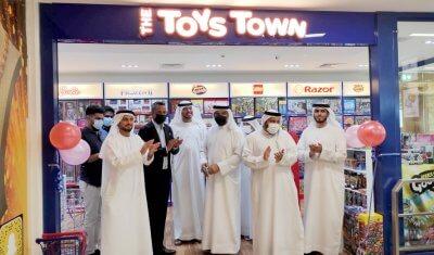 افتتاح فرع لمتجر Toys Town في تعاونية الاتحاد – فرع شارع حصة بمنطقة البرشاء